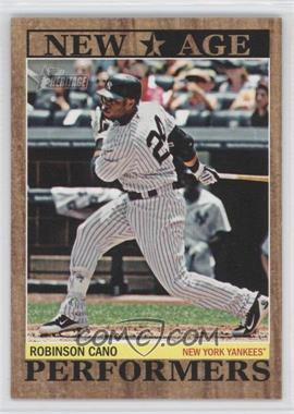 2011 Topps Heritage New Age Performers #NAP-13 - Robinson Cano