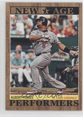 2011 Topps Heritage New Age Performers #NAP-15 - Albert Pujols