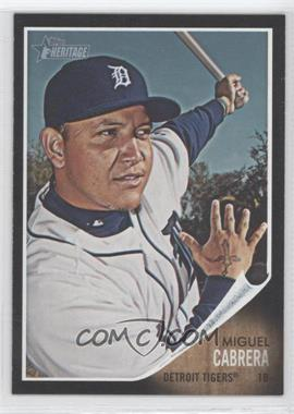 2011 Topps Heritage Retail Blister Pack [Base] Black Border #C4 - Miguel Cabrera
