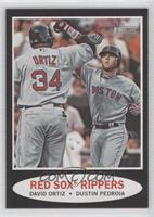 David Ortiz, Dustin Pedroia