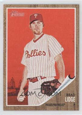 2011 Topps Heritage Target [Base] Red Tint #111 - Brad Lidge