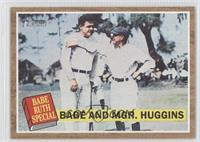 Jay Rogers, Babe Ruth, Miller Huggins