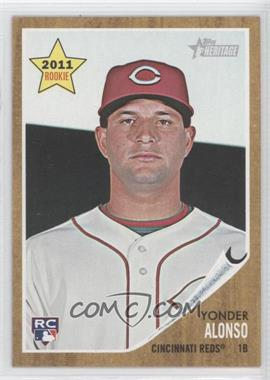 2011 Topps Heritage #309 - Yonder Alonso