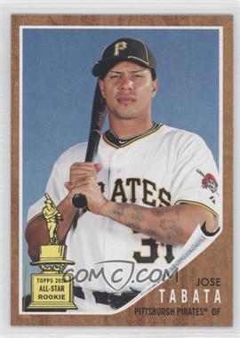 2011 Topps Heritage #454 - Jose Tabata