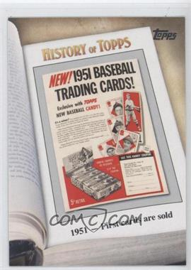2011 Topps History of Topps #HOT-2 - [Missing]
