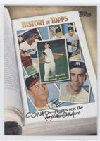 1957 - Topps sets the card size standard