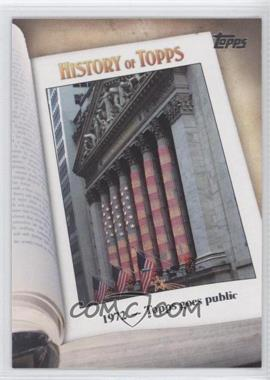 2011 Topps History of Topps #HOT-5 - [Missing]