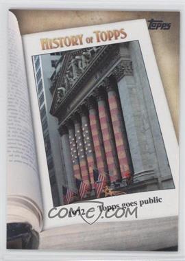2011 Topps History of Topps #HOT-5 - [Missing]