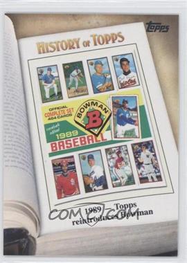 2011 Topps History of Topps #HOT-7 - [Missing]