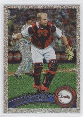 2011 Topps Holiday Factory Set Bonus Pack [Base] #415 - Brian McCann /75