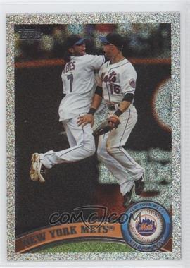2011 Topps Holiday Factory Set Bonus Pack #157 - New York Mets /75