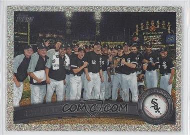 2011 Topps Holiday Factory Set Bonus Pack #161 - Chicago White Sox Team /75