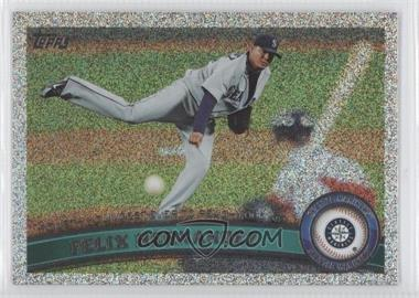 2011 Topps Holiday Factory Set Bonus Pack #403 - Felix Hernandez /75