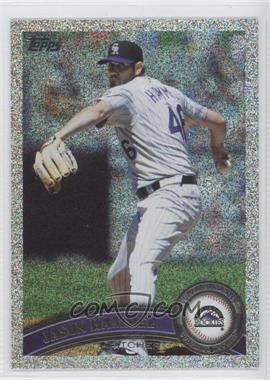 2011 Topps Holiday Factory Set Bonus Pack #642 - Jason Hammel /75