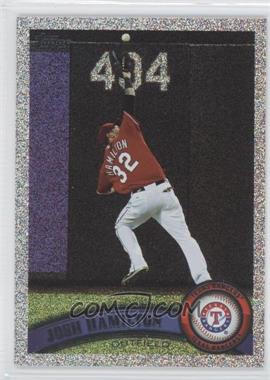 2011 Topps Holiday Factory Set Bonus Pack #650 - Josh Hamilton /75