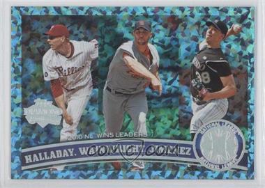 2011 Topps Hope Diamond Anniversary #11 - Roy Halladay, Adam Wainwright, Ubaldo Jimenez /60