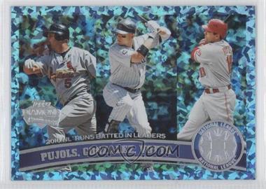 2011 Topps Hope Diamond Anniversary #138 - Albert Pujols, Joey Votto, Carlos Gonzalez /60