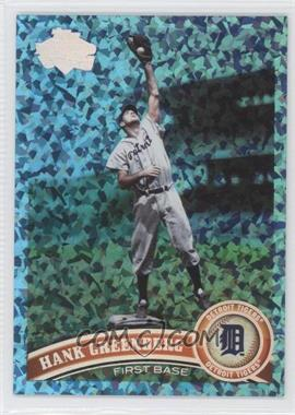 2011 Topps Hope Diamond Anniversary #150 - Hank Greenberg /60