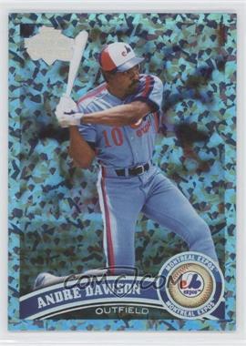 2011 Topps Hope Diamond Anniversary #375 - Andre Dawson /60