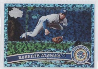 2011 Topps Hope Diamond Anniversary #480 - Roberto Alomar /60