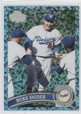 2011 Topps Hope Diamond Anniversary #490.2 - Duke Snider (Legends) /60
