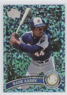 2011 Topps Hope Diamond Anniversary #510 - Hank Aaron /60