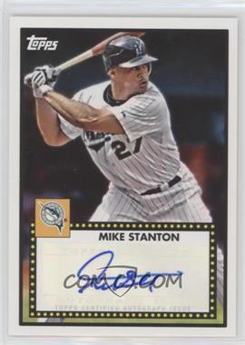 2011 Topps Lineage - 1952 Design Autographs - [Autographed] #52A-MS - Mike Stanton