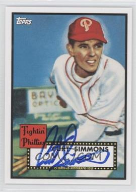2011 Topps Lineage - Reprint Autographs #RA-CSI - Curt Simmons