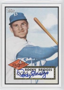2011 Topps Lineage - Reprint Autographs #RA-RB - Rocky Bridges