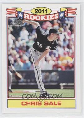2011 Topps Lineage - Rookies #2 - Chris Sale