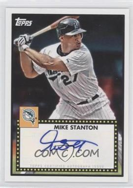 2011 Topps Lineage 1952 Design Autographs [Autographed] #52A-MS - Giancarlo Stanton