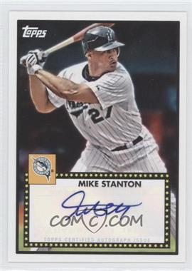 2011 Topps Lineage 1952 Design Autographs [Autographed] #52A-MS - Mike Stanton