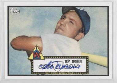 2011 Topps Lineage Reprint Autographs #RA-IN - Irv Noren