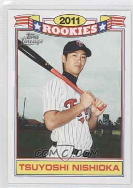 2011 Topps Lineage Rookies #14 - Tsuyoshi Nishioka