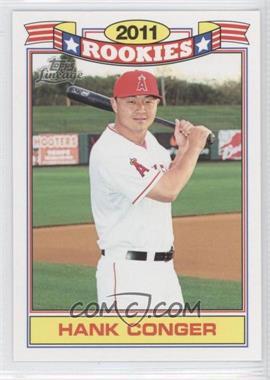 2011 Topps Lineage Rookies #16 - Hank Conger