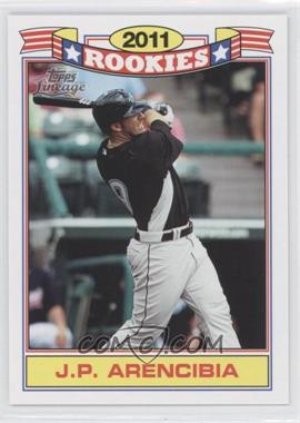 2011 Topps Lineage Rookies #18 - J.P. Arencibia