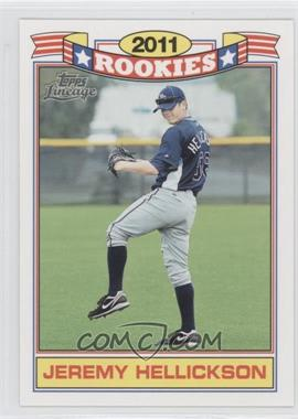 2011 Topps Lineage Rookies #5 - Jeremy Hellickson