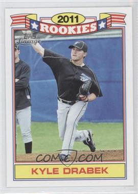 2011 Topps Lineage Rookies #7 - Kyle Drabek
