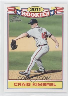 2011 Topps Lineage Rookies #8 - Craig Kimbrel