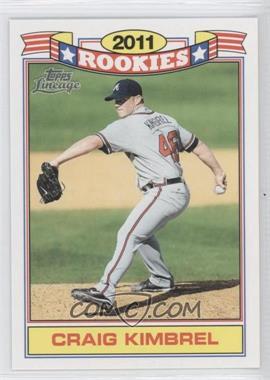 2011 Topps Lineage Rookies #8 - Craig Kimbrel