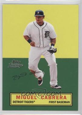 2011 Topps Lineage Stand Ups #MICA - Miguel Cabrera