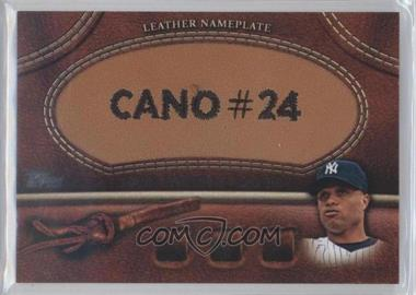 2011 Topps Manufactured Glove Leather Nameplate #MGL-RC - Robinson Cano