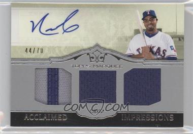2011 Topps Marquee - Acclaimed Impressions - Triple #AIT-18 - Nelson Cruz /70