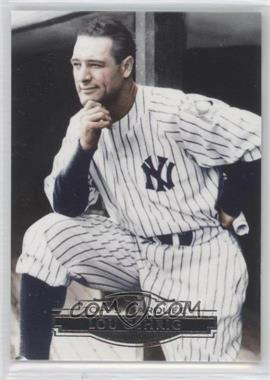 2011 Topps Marquee - [Base] #19 - Lou Gehrig