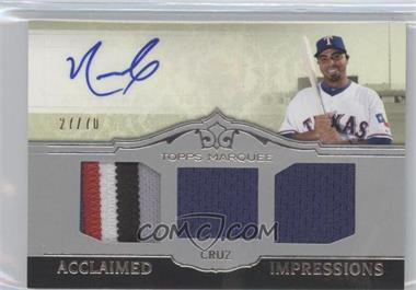 2011 Topps Marquee Acclaimed Impressions Triple #AIT-18 - Nelson Cruz /70