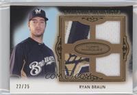 Ryan Braun #22/25