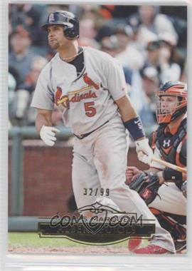 2011 Topps Marquee Gold #11 - Albert Pujols /99