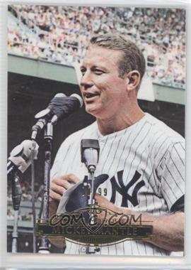 2011 Topps Marquee Gold #31 - Mickey Mantle /99