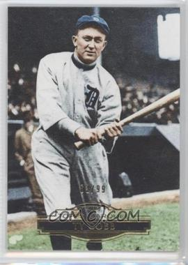 2011 Topps Marquee Gold #48 - Ty Cobb /99