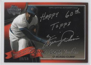 2011 Topps Multi-Product Insert 60th Anniversary Autographs [Autographed] #60A-FJ - Fergie Jenkins /60